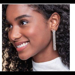 Swarovski bling earrings Night Out sparkling BNIB